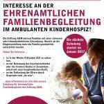 Schulungen für ehrenamtliche Familienbegleiter