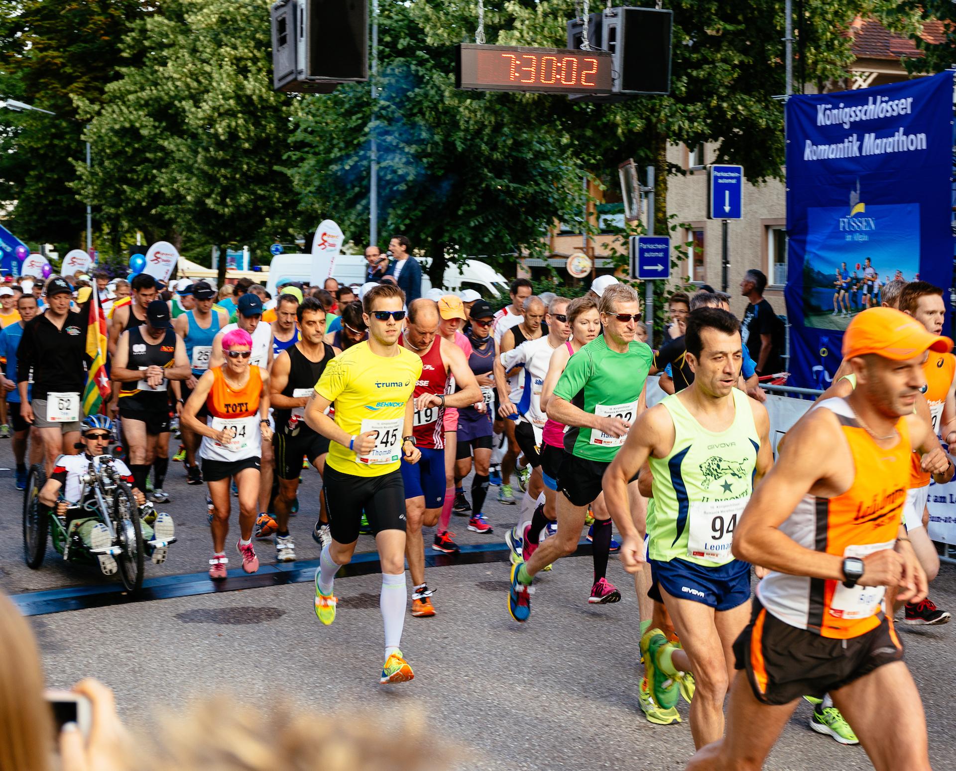 Königsschlösser-Romantik-Marathon