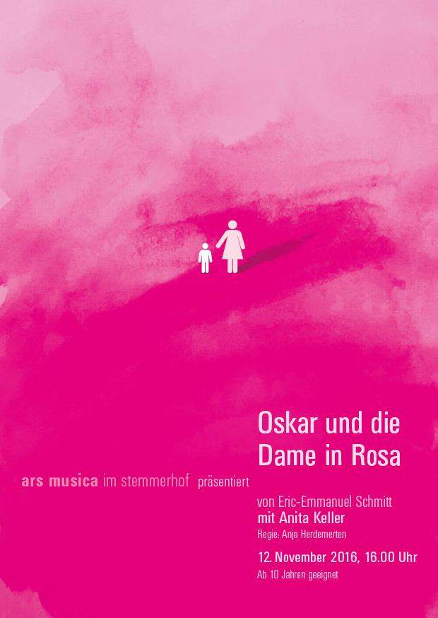 Plakat Oskar und die Dame in Rosa