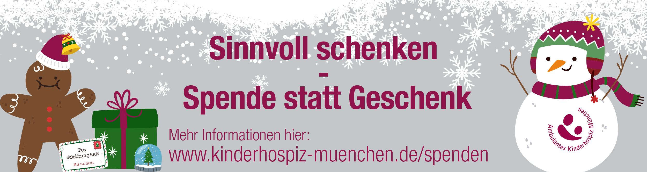 Sinnvoll Spenden stiftung ambulantes kinderhospiz münchen akm