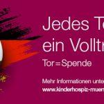 WM Spendenaktion für die Stiftung Ambulantes Kinderhospiz München