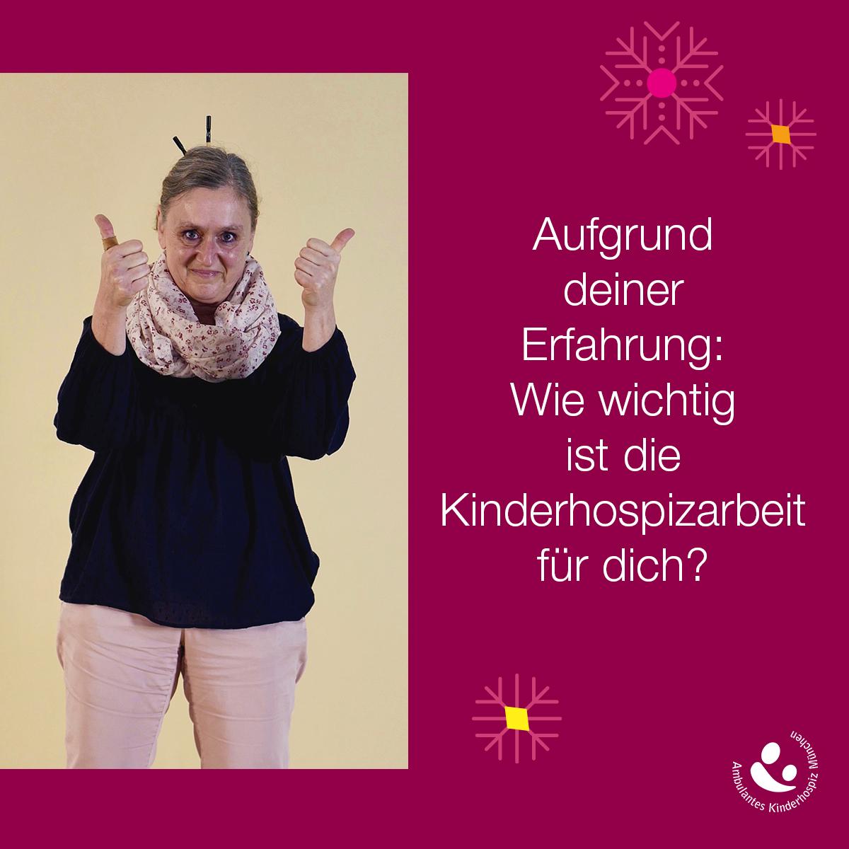 Ein Bild sagt mehr als 1.000 Worte: Karin May-Brandstätter