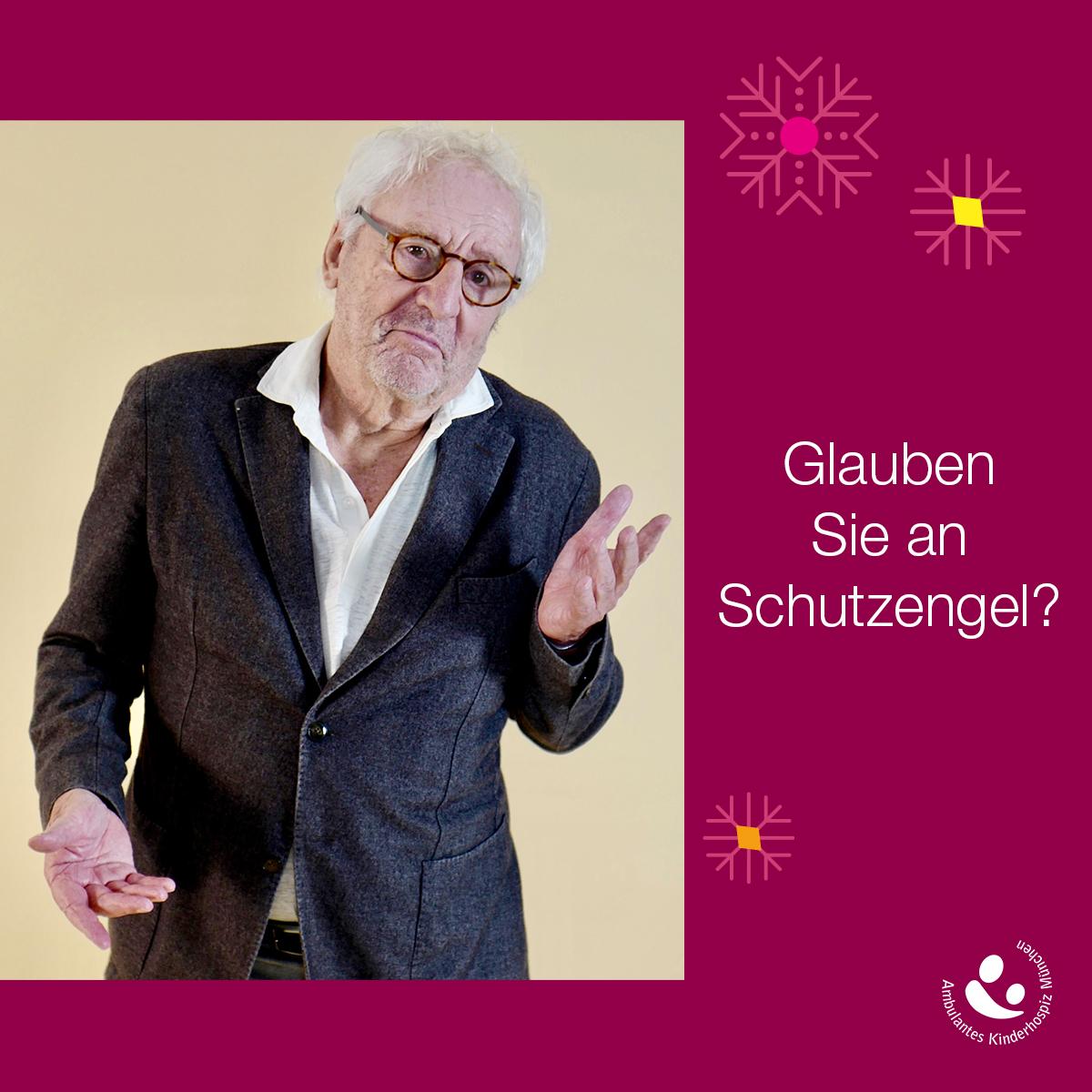 Ein Bild sagt mehr als 1.000 Worte: Günther Maria Halmer