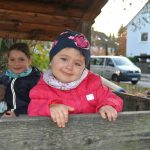 Leandra und ihre Geschwister Emilia und Aris