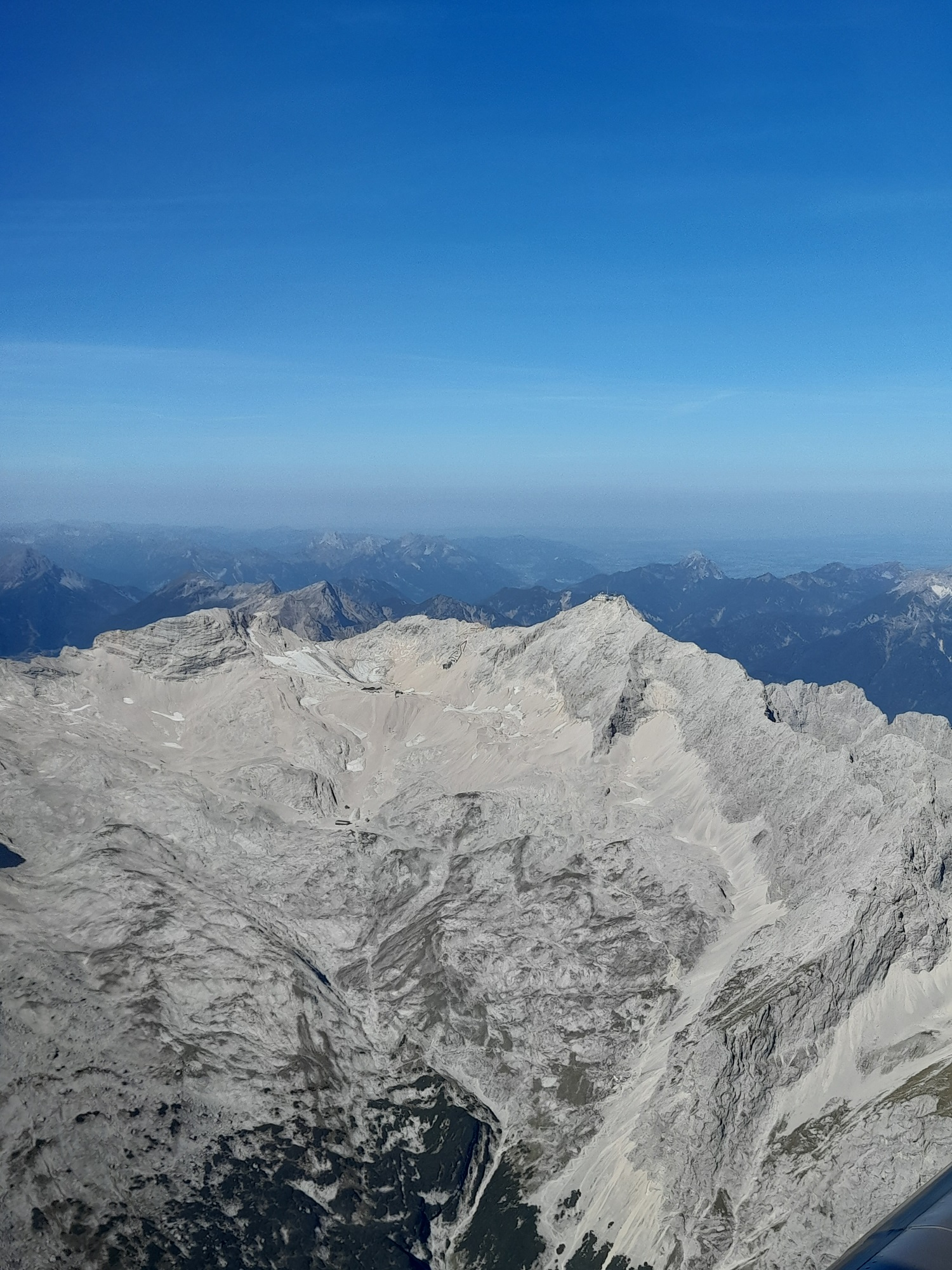 Flug über Bayern